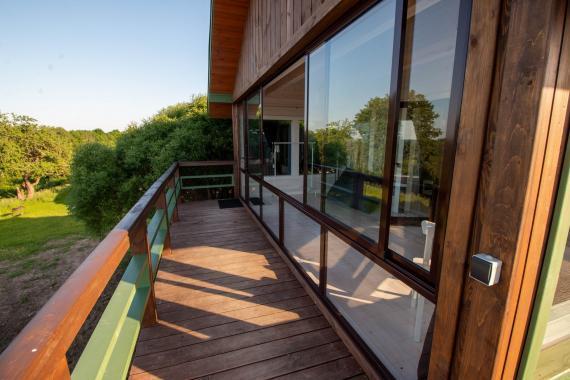 Апартаменты с террасой и видом на озеро