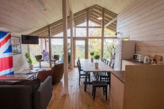 Кемпинговый дом повышенной комфортности на 8 человек